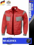 Qualitex PRO 245 REDGREY prémium technikai kabát - munkaruha