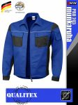 Qualitex PRO 245 ROYALBLACK prémium technikai kabát - munkaruha