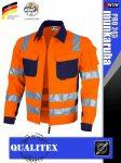 Qualitex PRO 245 HVORANGE prémium technikai kabát - munkaruha