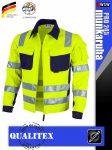 Qualitex PRO 245 HVYELLOW prémium technikai kabát - munkaruha