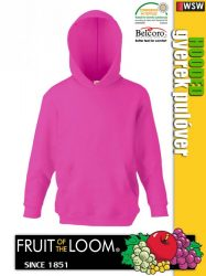 Fruit of the Loom HOODED gyerek pulóver