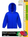 Fruit of the Loom HOODED JACKET gyerek pulóver