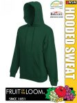 Fruit of the Loom HOODED SWEAT pulóver