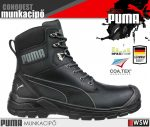 Puma CONQUEST BLACK S3 technikai munkacipő - munkavédelmi cipő