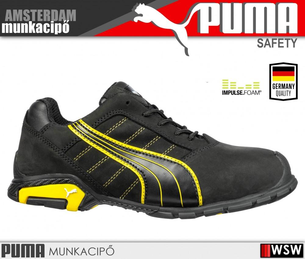 a9df77951acd Puma AMSTERDAM S3 munkacipő - munkavédelmi cipő - munkaruha ...
