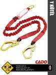 Coverguard CADO 2R energiaelnyelő Y munkavédelmi kötél - egyéni védőeszköz
