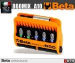 10 csavarhúzóbetét és mágneses betétartó műanyag dobozban_860MIX_A10