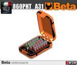 30 csavarhúzóbetét és mágneses gyorslazítású betéttartó, műanyag dobozban_860TX_A31