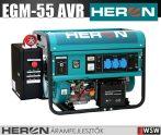 Heron 8896115-AU5 benzinmotoros áramfejlesztő inditó automatikával - 5500 VA