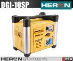 Heron DGI-10SP benzinmotoros áramfejlesztő 1,0kVA - 230V hordozható