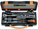 10 tizenkétszögű dugókulcs és 7 tartozék fémdobozban repülőgép karbantartásához_900AS_C17-MBM