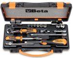 10 hatlapú dugókulcs és 7 tartozék fémdobozban_900AS_MB-C17