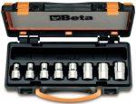 8 részes dugókulcs készlet Torx® csavarokhoz fémdobozban_920FTX_C8