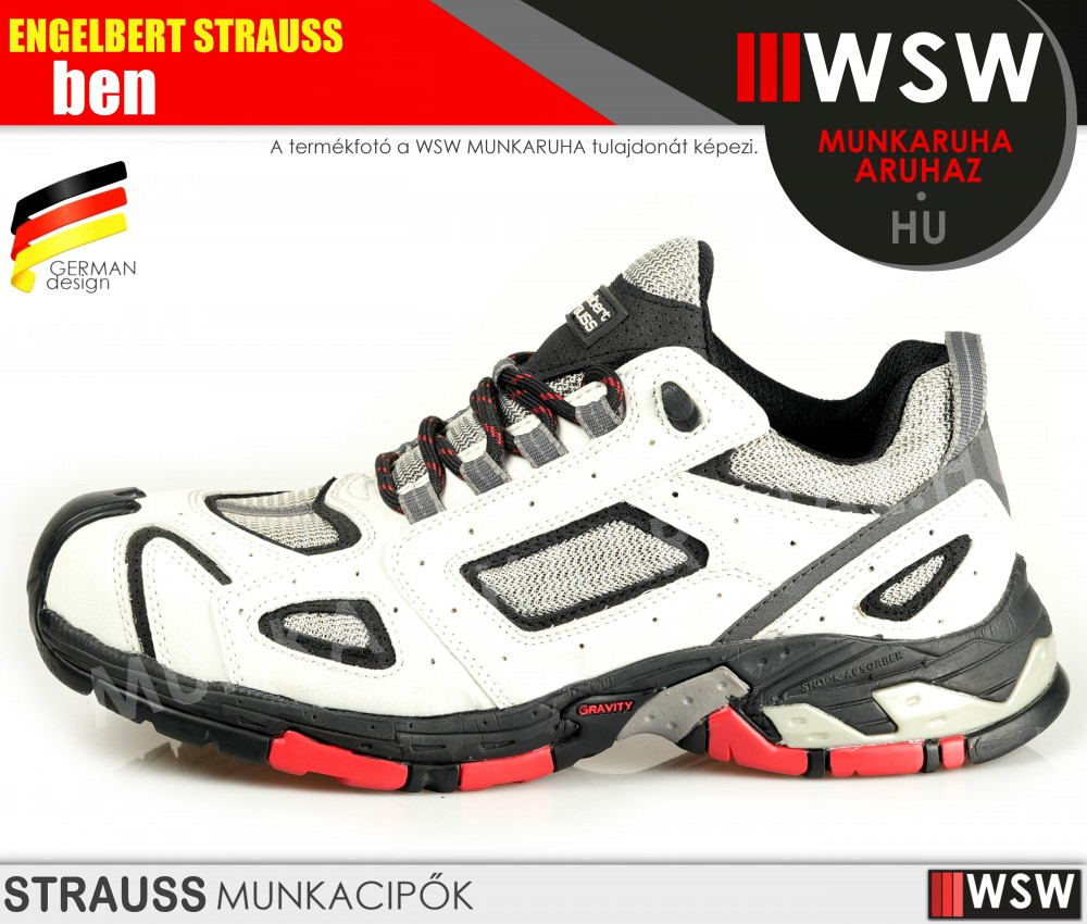 Engelbert Strauss BEN S1 munkavédelmi cipő - munkacipő - munkaruha ... 99a9c9d031