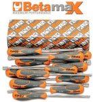 12 darabos dugókulcs-csavarhúzó készlet bimateriál nyéllel_944BX_S12