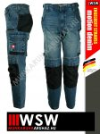 Engelbert Strauss MOTION DENIM technikai farmernadrág - munkaruha