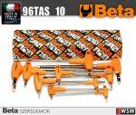 10 darabos T-szárú imbuszkulcs készlet műanyag markolattal_96TAS_10