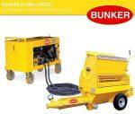 Bunker B100 D csavarszivattyús betonpumpa tartozékokkal PFT G4 zsákos habarcspumpa G5C turbosol