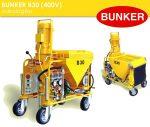 Bunker B30 vakológép tartozékokkal PFT G4 zsákos habarcspumpa G5C turbosol