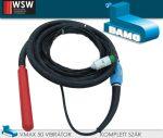 Bamo betonvibrátor - nagyfrekvenciás vibrátorszár komplett 42V