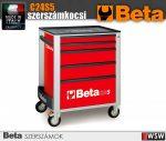 Beta 5 fiókos szerszámkocsi - szerszám