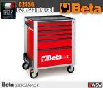 Beta 6 fiókos szerszámkocsi - szerszámok