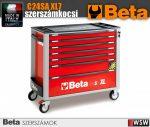 Beta 7 fiókos XL szerszámkocsi borulságátlóval - szerszám