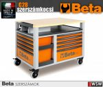 Beta SUPER TANK 10 fiókos szerszámkocsi munkalappal - szerszám