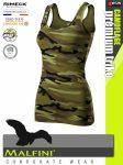 Malfini CAMOFLAGE GREEN női prémium pamut trikó - munkaruha