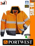 Portwest HI-VIS jólláthatósági bélelt kabát - 2in1