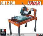 Triax CUT 300 ipari asztali téglavágó és térkővágó gép