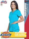 Dickies DYNAMIX női rugalmas egészségügyi technikai felső - munkaruha