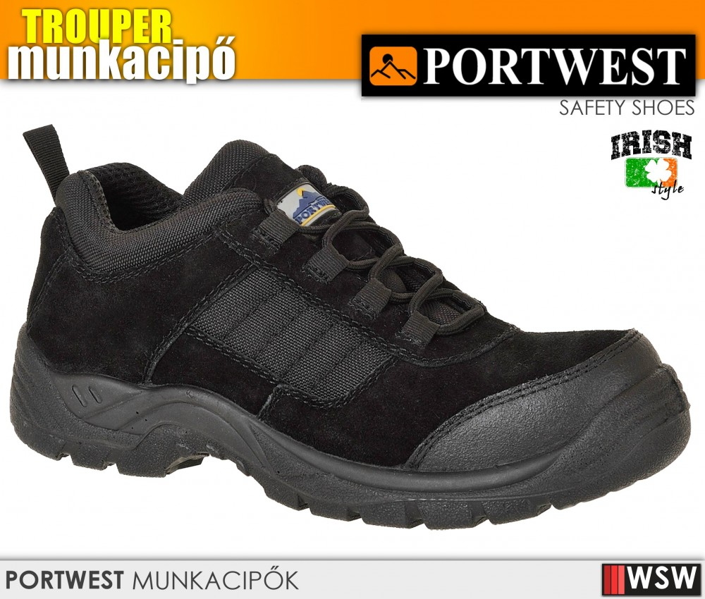 Portwest TREKKER S1 munkacipő - munkabakancs - munkaruha ... 822385c72d