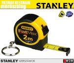 Stanley FATMAX kulcstartós mérőszalag 2m/bliszter - szerszám