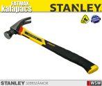 Stanley FATMAX  vibráció csökkentett kalapács 397gr/14oz ,ívelt fejrész - szerszám