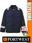 Portwest BIZFLAME Plus antisztatikus lángálló kabát - munkaruha