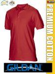 Gildan PREMIUN COTTON rövidujjú férfi galléros póló
