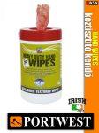 Portwest HEAVY DUTY ANTIBAKTERIÁLIS kéz és felülettisztító kendő - higiéniai termék