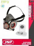 .Jsp FORCE8 légzésvédelmi félálarc maszk - 1 pár FFP3 cserélhető szűrővel - védőeszköz