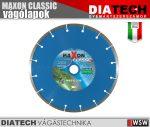 Diatech MAXON CLASIC szegmenses vágótárcsa - 115x22,2x7 mm - tartozék