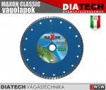 Diatech MAXON CLASSIC turbós vágótárcsa - 230x22,2x7 mm - tartozék
