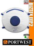 Portwest BIZTEX FFP2 szelepes porálarc - pormaszk (10 db-os kiszerelés)