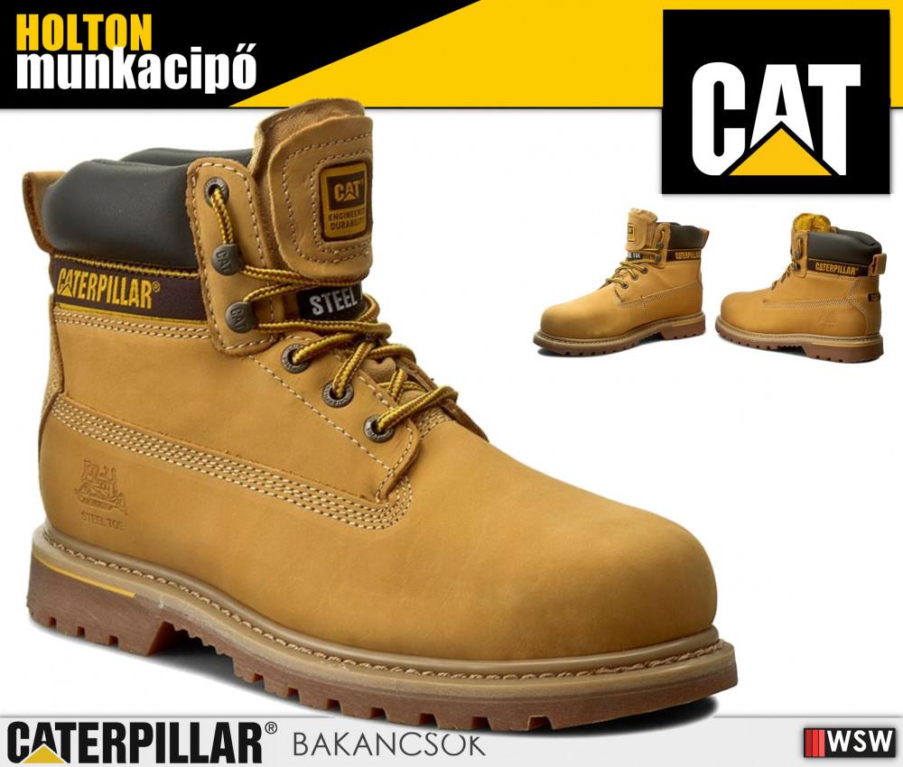 Caterpillar CAT HOLTON S1P férfi munkabakancs - munkacipő ... d48d15f72b