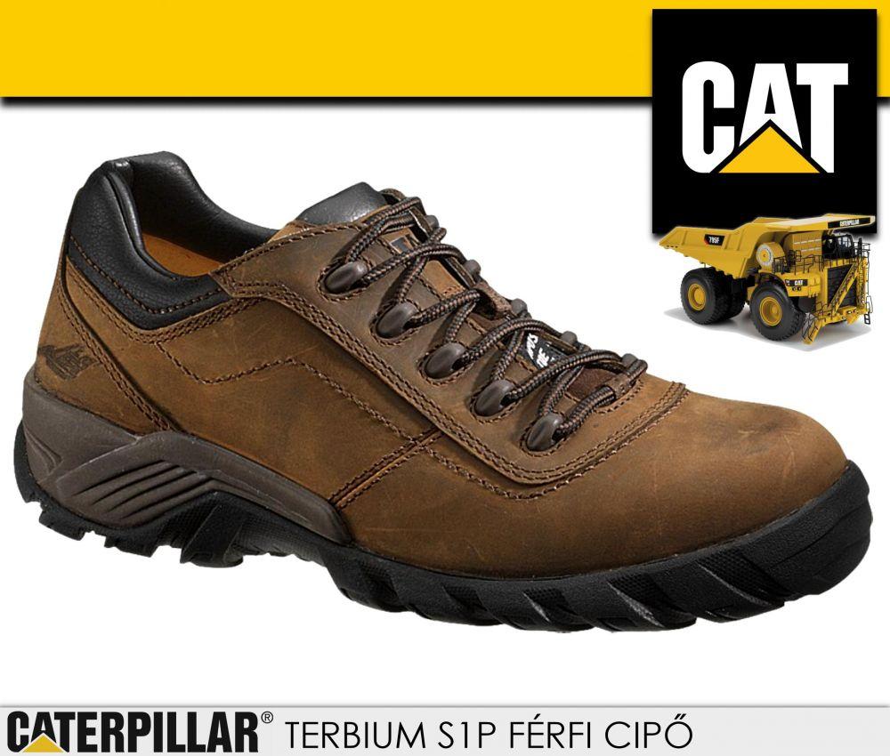 Caterpillar CAT TERBIUM S1P férfi bakancs védőbetéttel munkacipő ... d51442ef7e