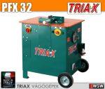 Triax PFTX betonacél vágó és hajlító gép