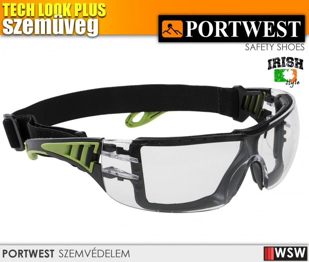 Portwest TECH LOOK PLUS munkavédelmi szemüveg - védőszemüveg ... bc6b76a9bd