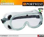 Portwest PS21 vegyvédelmi szemüveg - védőszemüveg