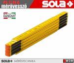 Sola PS 2/10 G fa mérővessző zollstock 2 méter - szerszám