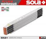 Sola PS 2/10 W fa mérővessző zollstock 2 méter - szerszám