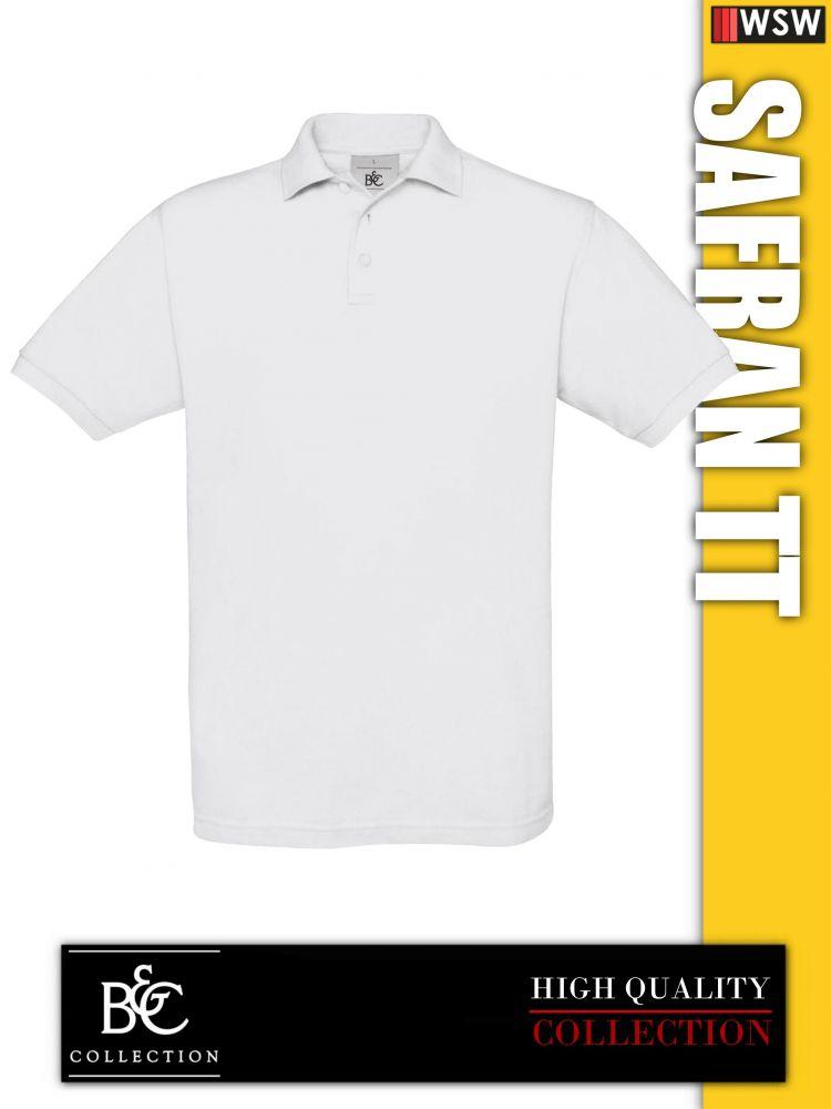 ad219ea0ac B&C Safran TT galléros férfi póló - munkaruha,munkavédelmi,munkacipő ...